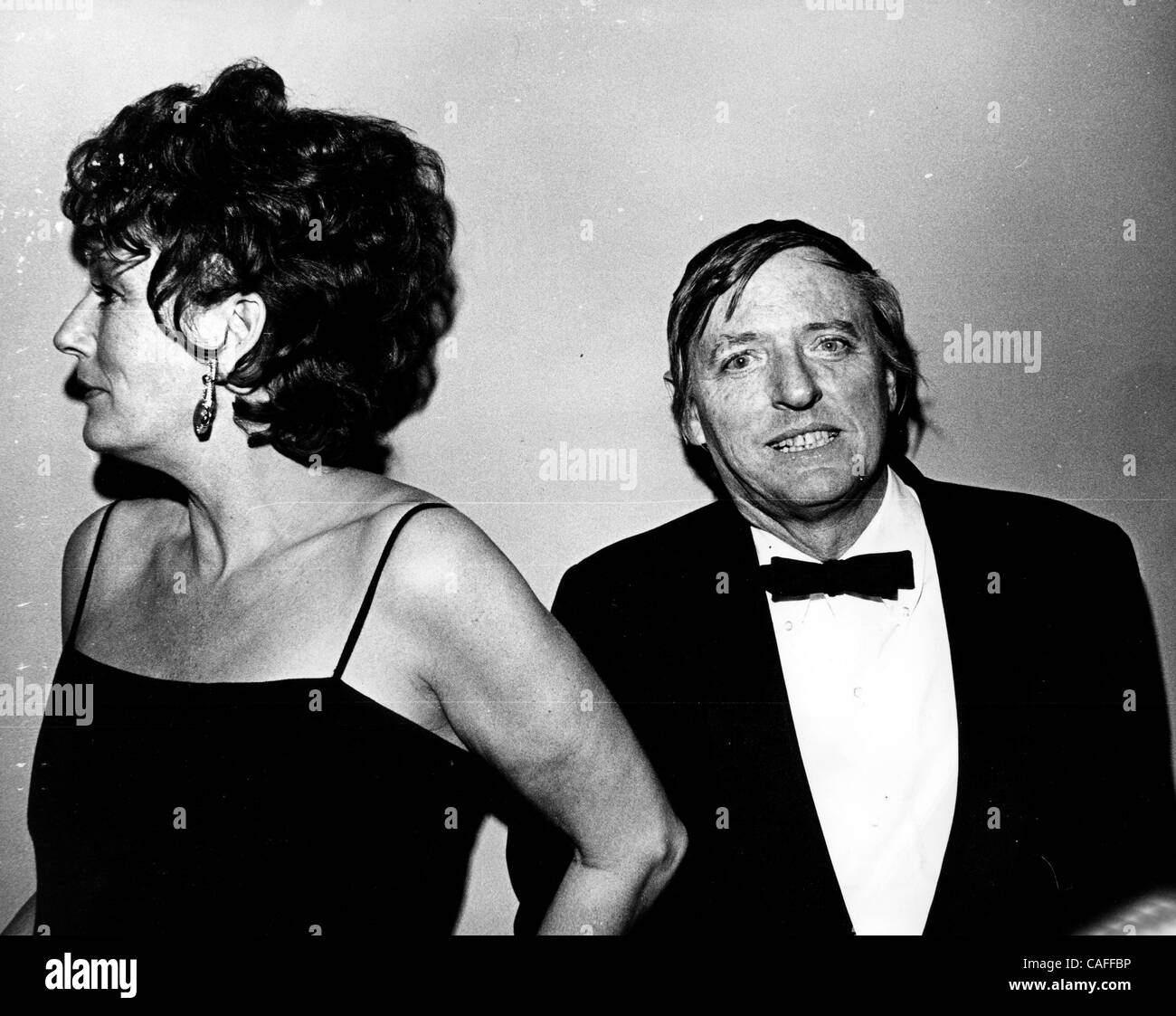Feb 26, 2008 - New York, NY, USA - FILE: Dec 14, 1973; New York, NY, USA; American author WILLIAM BUCKLEY and his - Stock Image