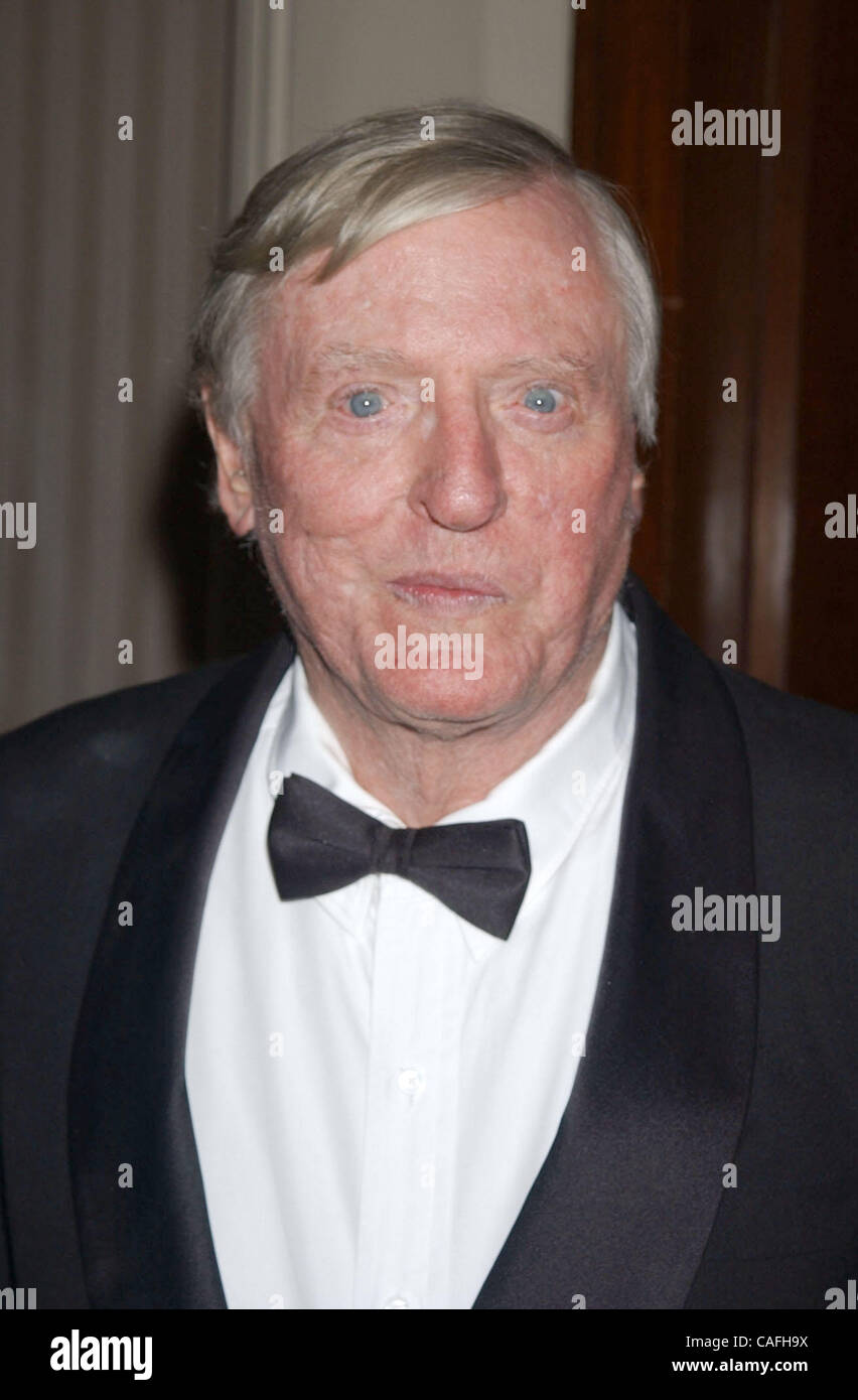 Sep 23, 2003; New York, NY, USA; WILLIAM F. BUCKLEY JR. at the Top Dog Gala benefitting the Animal Medical Center - Stock Image