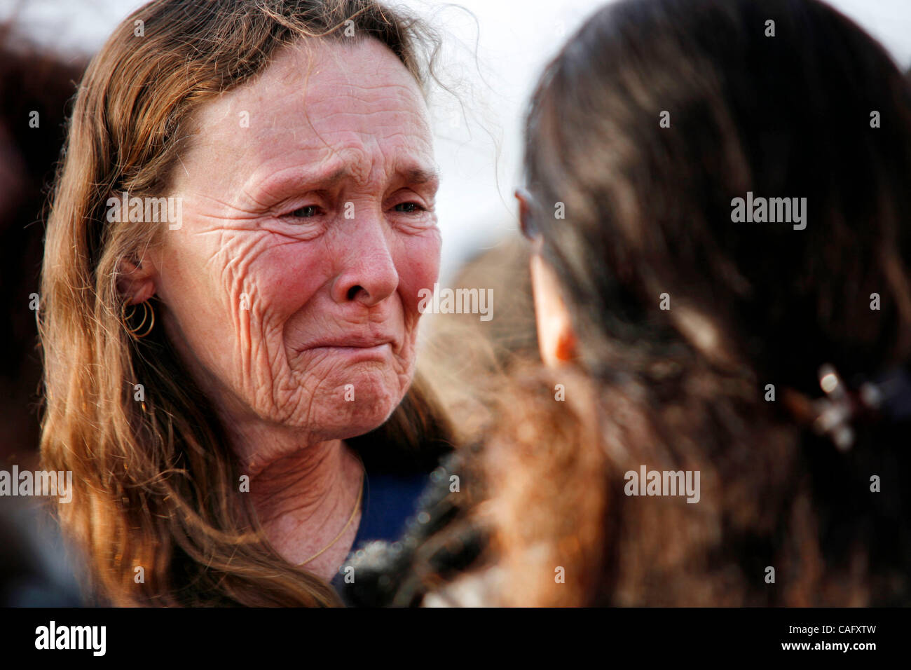 Feb 22, 2008 - Port Hueneme, California, USA - SUSAN CROWLEY, Lawrence 'Larry' King's Special ED teacher - Stock Image