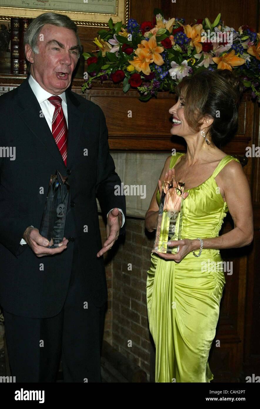Jan. 28, 2008 - New York, New York, U.S. - K56150TGA.AFTRA MEDIA AND ENTERTAIMENT EXCELLENCE AWARDS HONORING SUSAN - Stock Image
