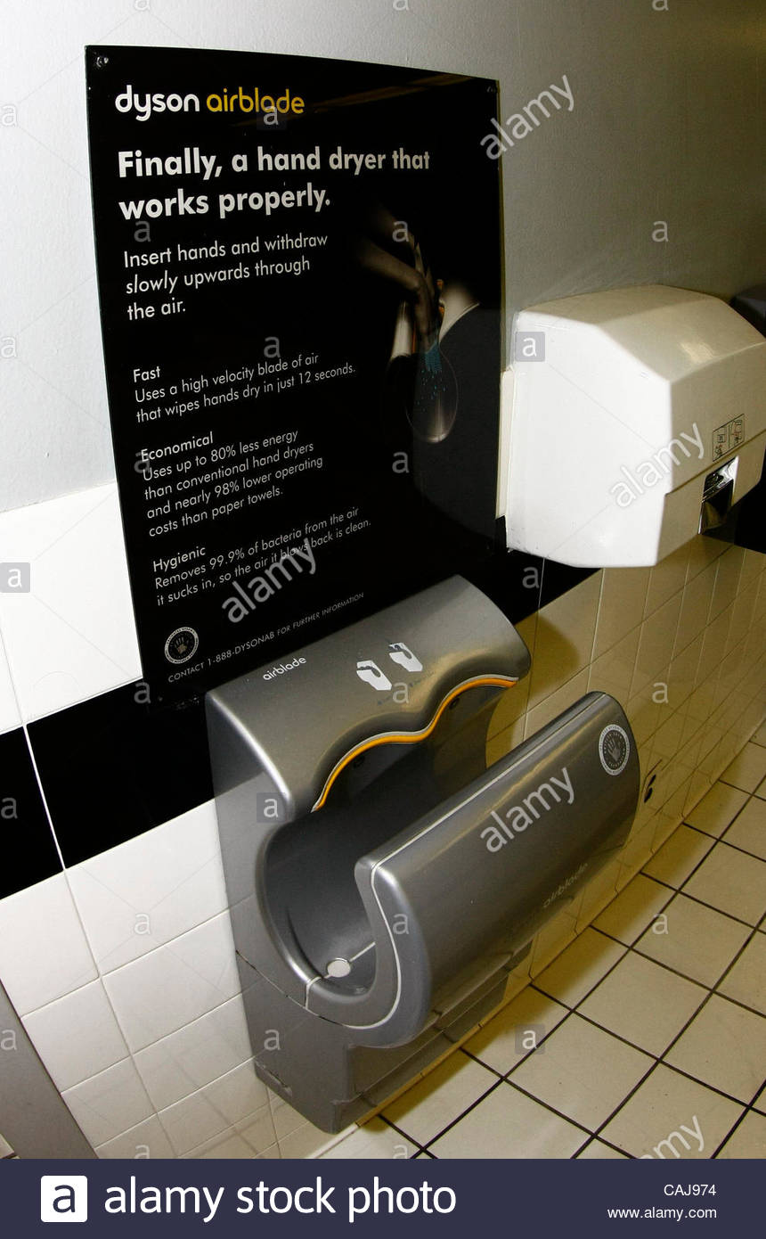 Dyson Hand Dryer Stock Photos & Dyson Hand Dryer Stock Images - Alamy