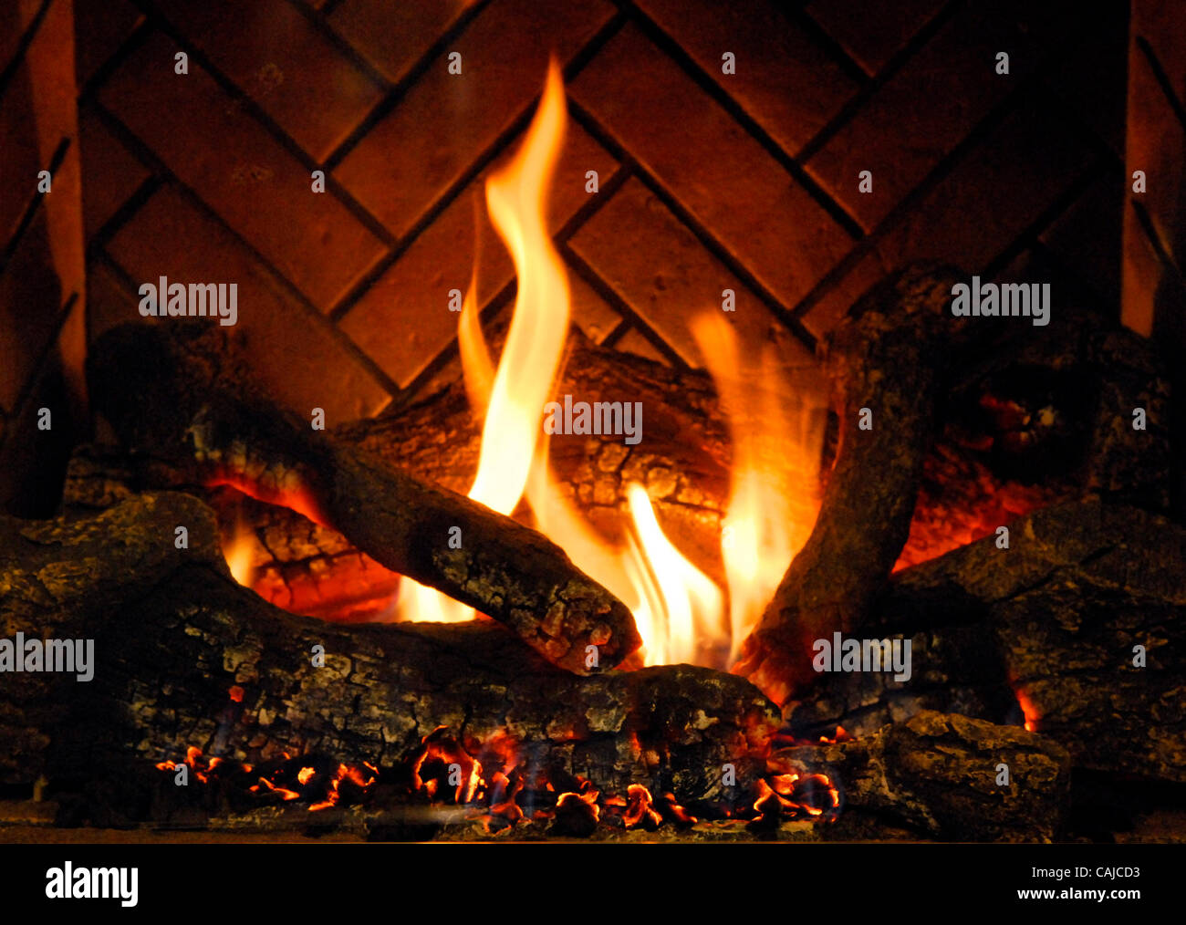 Flames From A Gas Fireplace Insert An Option For Those Who Want To