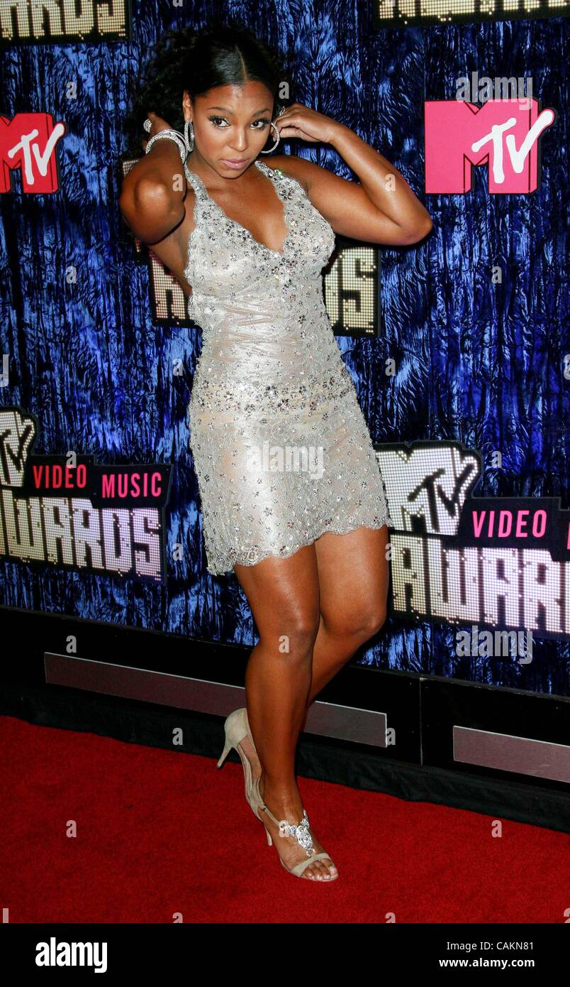 2007 Mtv Music Awards Stock Photos