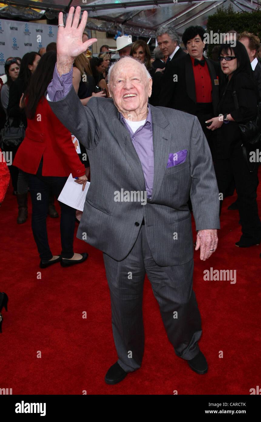 MICKEY ROONEY CABARET 40TH ANNIVERSARY RESTORATION. WORLD PREMIERE. TCM CLASSIC FILM FESTIVAL HOLLYWOOD LOS ANGELES - Stock Image