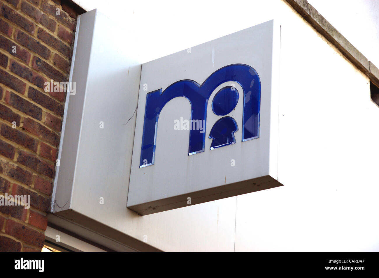 Mothercare retailer shop in the high street Worthing West Sussex - Stock Image