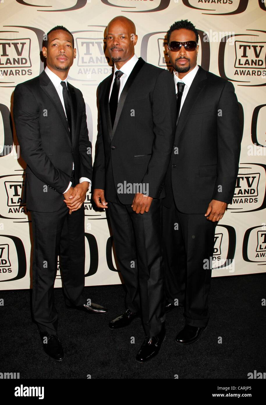 wayans brothers at arrivals for tv land awards 10th anniversary