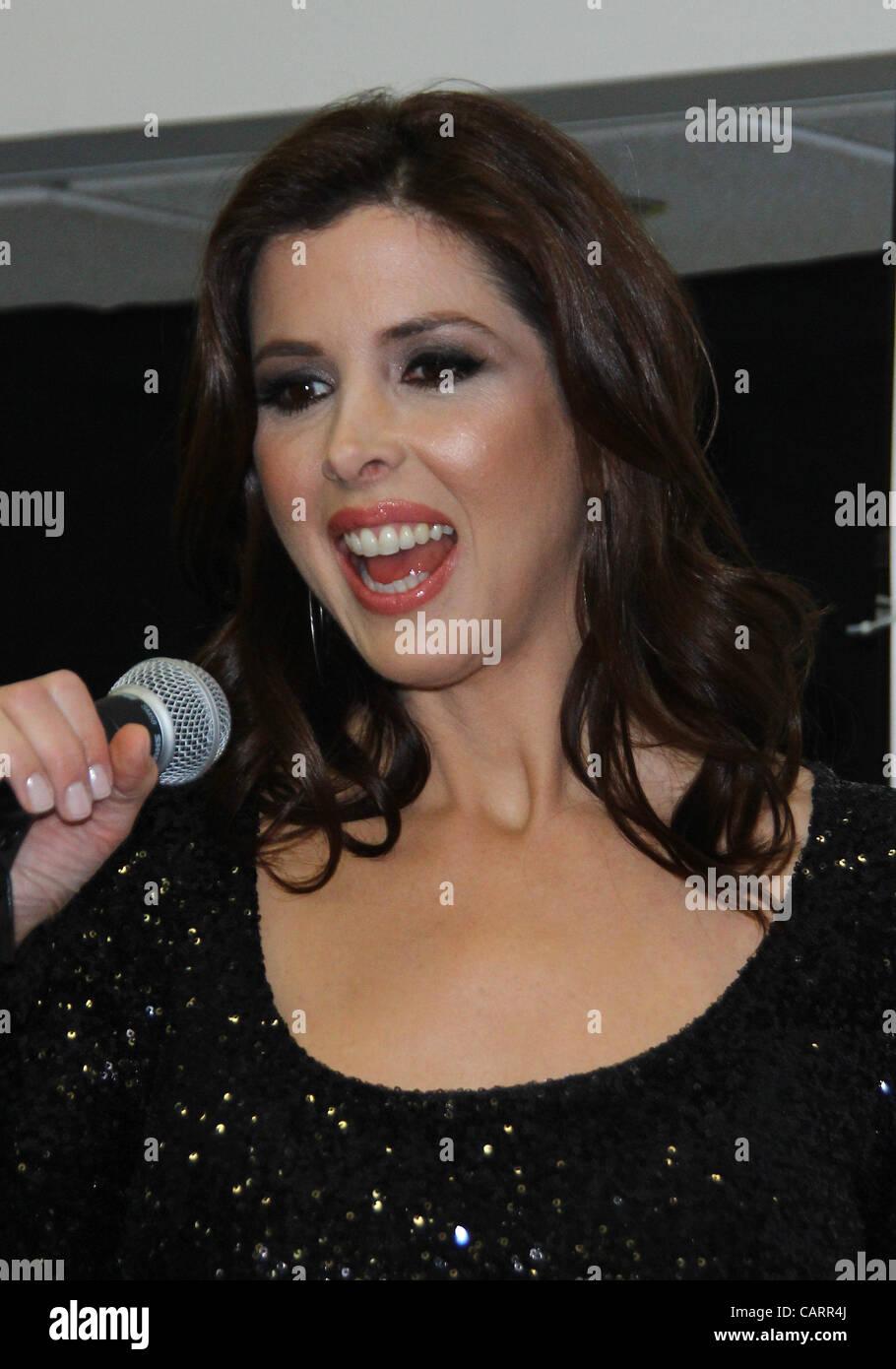 April 15, 2012 - Los Angeles, California, U.S. - Wendy Wilson.TV Guide Network's ''Wilson Phillips: - Stock Image