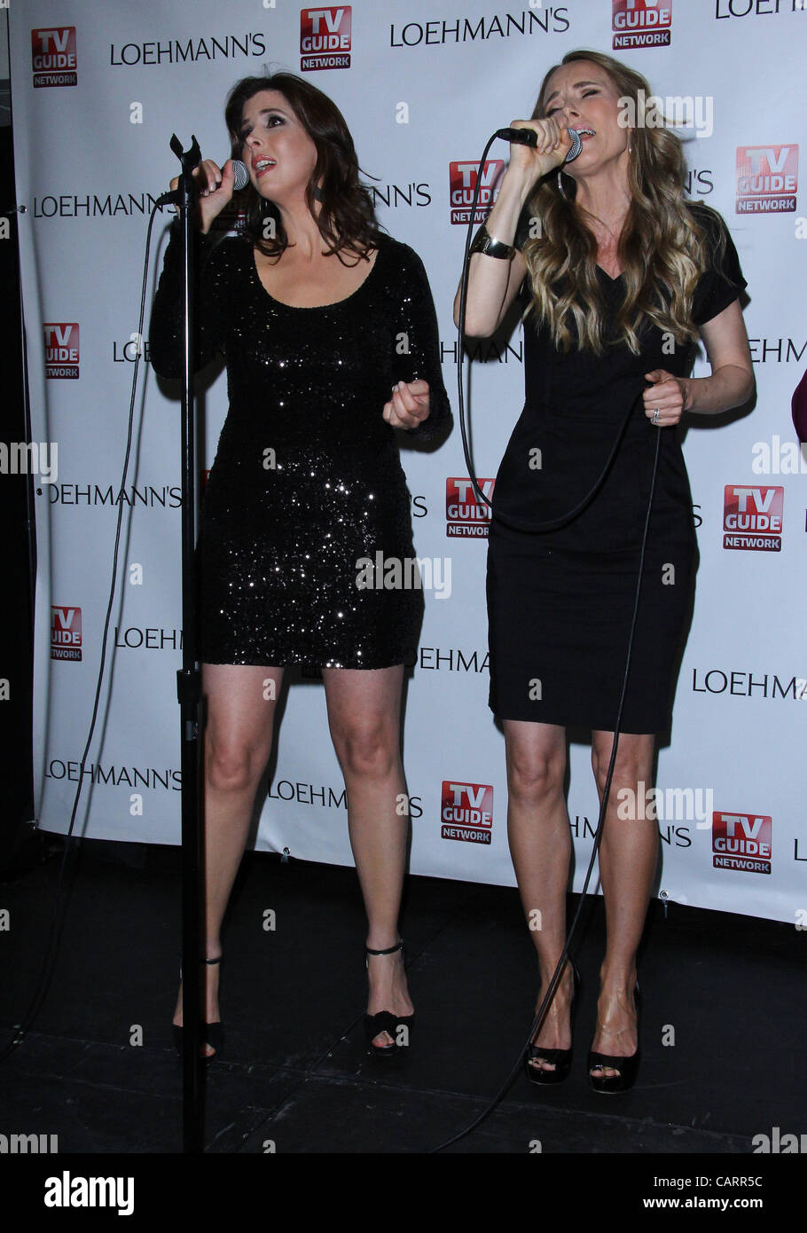 April 15, 2012 - Los Angeles, California, U.S. - Wendy Wilson;Chynna Phillips.TV Guide Network's ''Wilson - Stock Image
