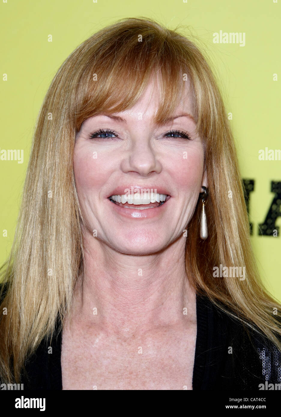 MARG HELGENBERGER MARLEY. LOS ANGELES PREMIERE HOLLYWOOD LOS ANGELES CALIFORNIA USA 17 April 2012 - Stock Image