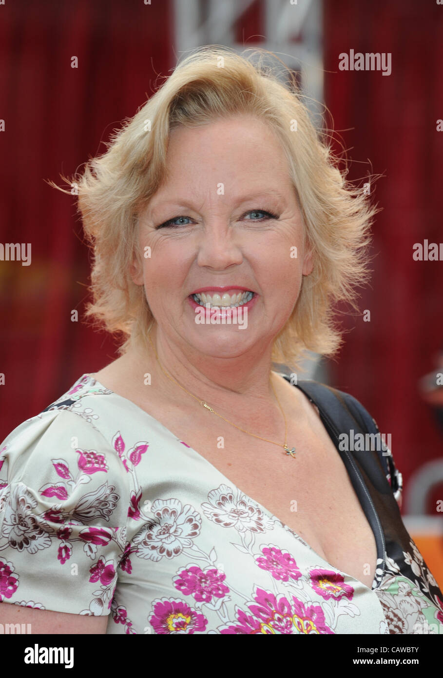 DEBORAH MEADEN THE AFRICAN CATS FILM PREMIERE BFI SOUTHBANK LONDON ENGLAND 25 April 2012 - Stock Image