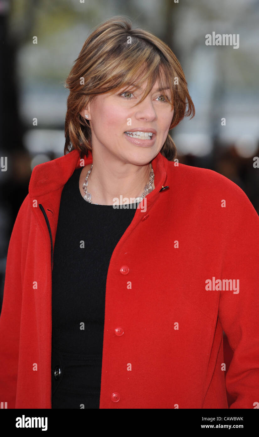 KATE SILVERTON THE AFRICAN CATS FILM PREMIERE BFI SOUTHBANK LONDON ENGLAND 25 April 2012 - Stock Image