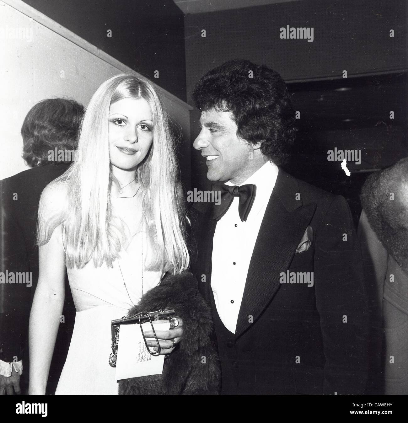 FRANKIE VALLI with Mary Ann.Supplied by Photos inc.(Credit ...