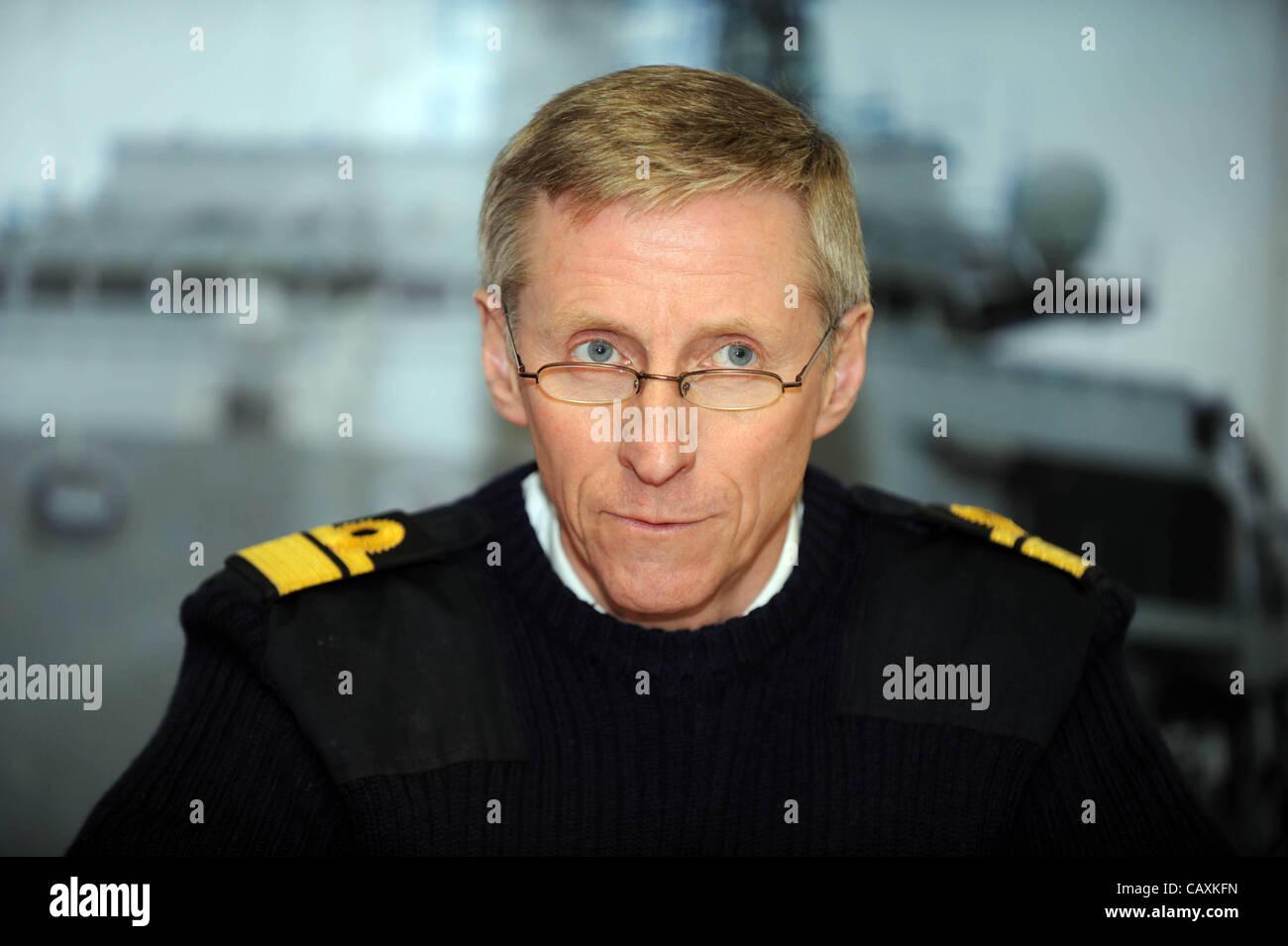Rear Admiral Ian Corder - Stock Image