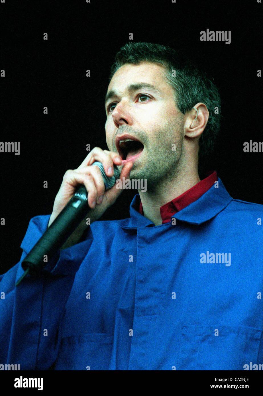 ADAM YAUCH ''MCA''.SINGER ''BEASTIE BOYS''.15/07/1998.N90F32C. - Stock Image