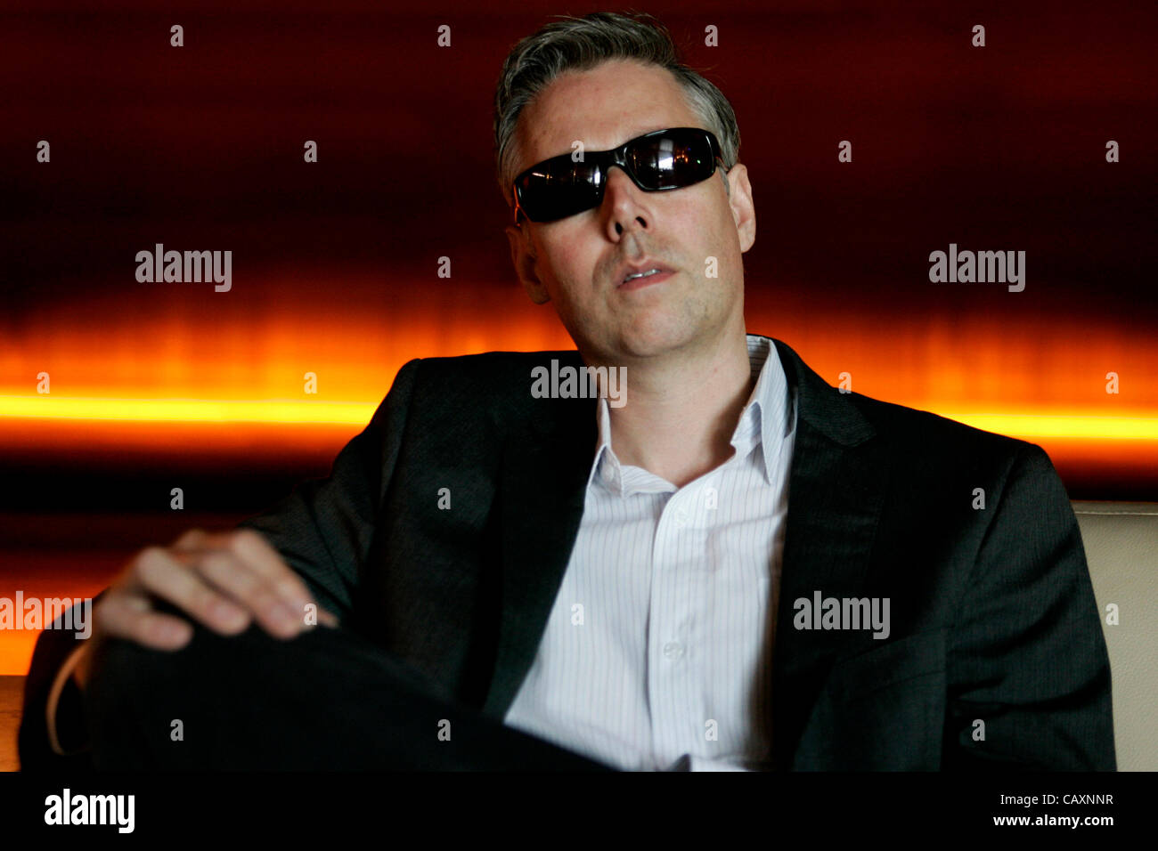 FILE - Adam Yauch, singer and founding member of seminal hip-hop trio the Beastie Boys, where he was known by his Stock Photo