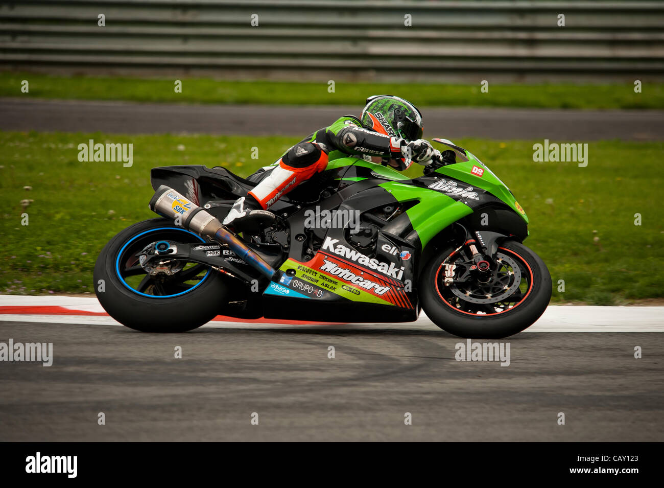 Superbike Monza  66 Tom Sykes GBR Kawasaki ZX-10R Kawasaki Racing Team - Stock Image