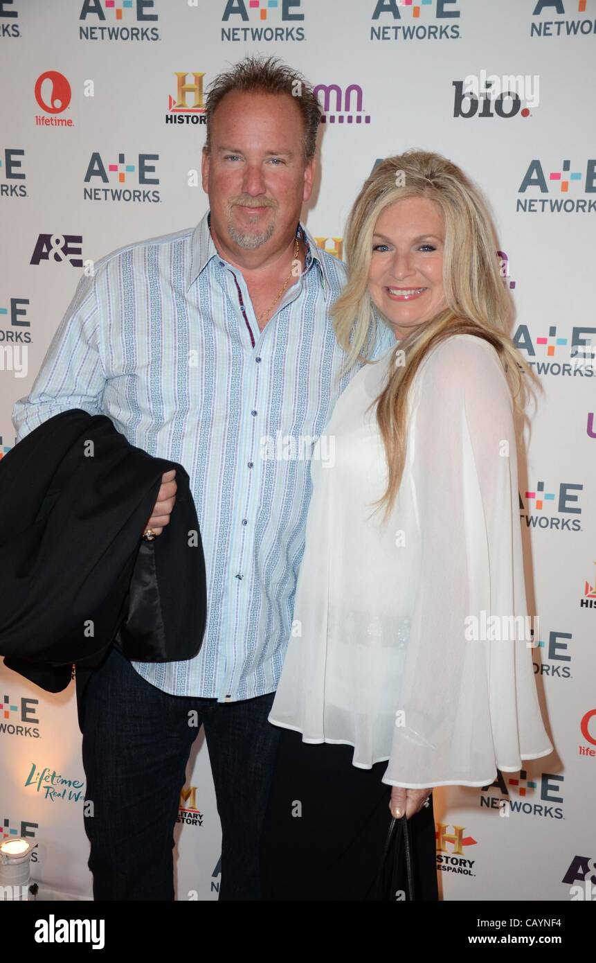 Storage Wars, Darrell Sheets, Kimber Wuerfel At A Public Appearance For A+E  Television Networks Upfront Presentation, Lincoln Center, New York, NY May  9, ...