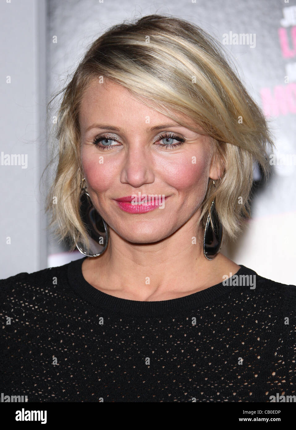 CAMERON DIAZ WHAT TO EXPECT WHEN YOU'RE EXPECTING. LOS ANGELES PREMIERE HOLLYWOOD LOS ANGELES CALIFORNIA USA - Stock Image
