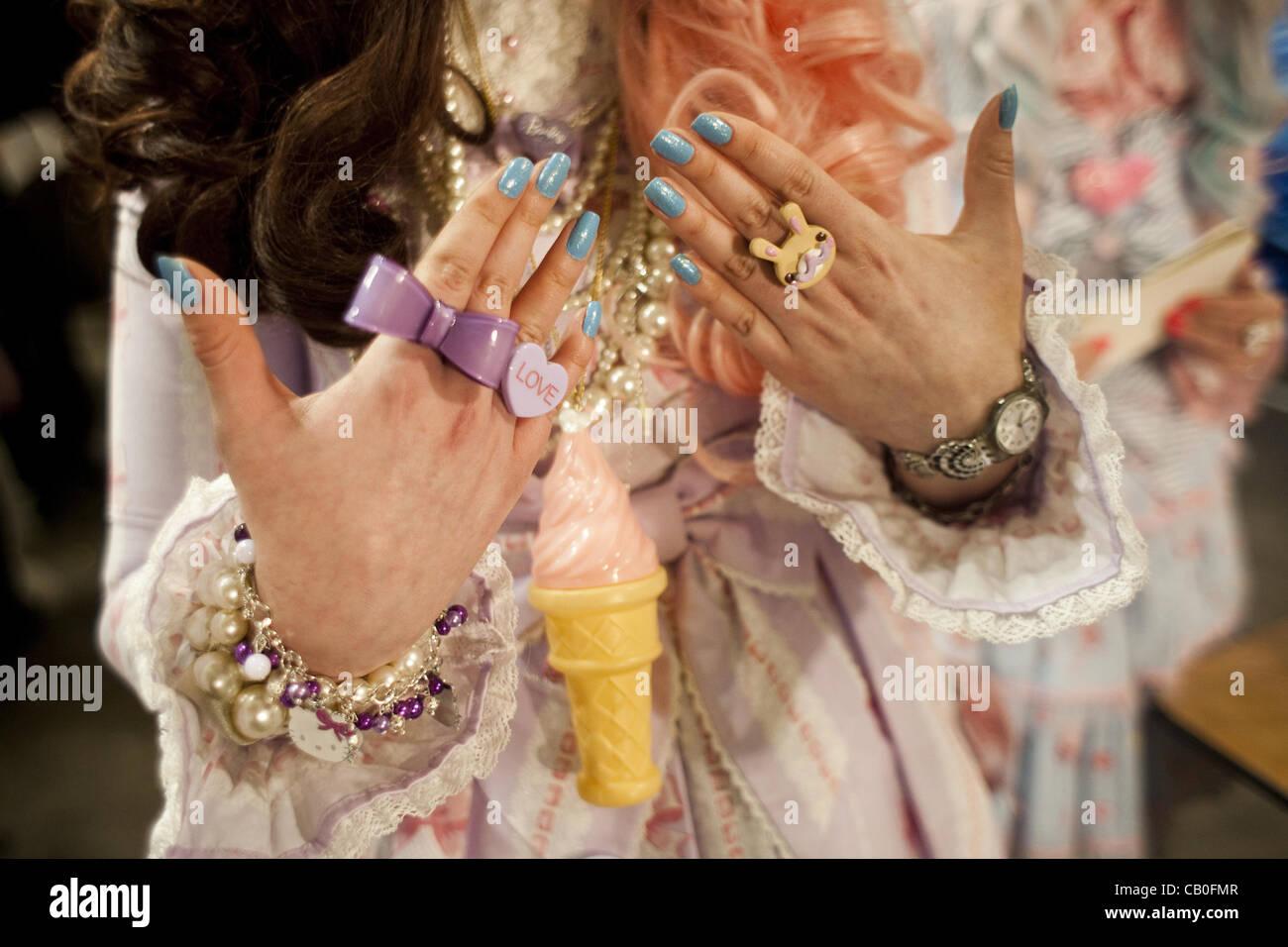 Feb. 25, 2012 - London, UK - HYPER JAPAN 2012.Brittish Lolila Hannah ...