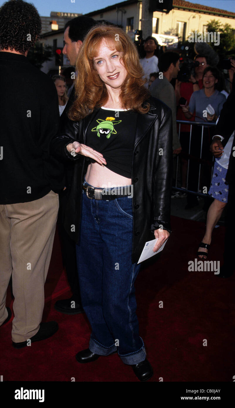 July 9, 1998 - Hollywood, California, U.S. - K12803LR.KATHY GRIFFIN.''There's Something About Mary'' - Stock Image