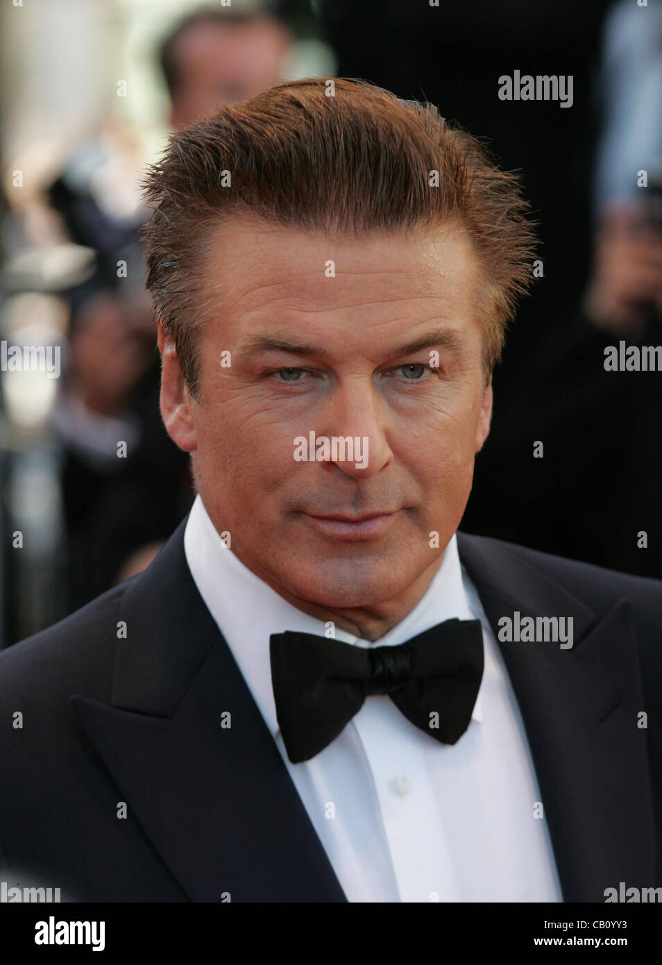 Cannes, France, 16/05/2012:Alec Baldwin arrives for the Moonrise Kingdom premiere during the 65th Annual Cannes - Stock Image