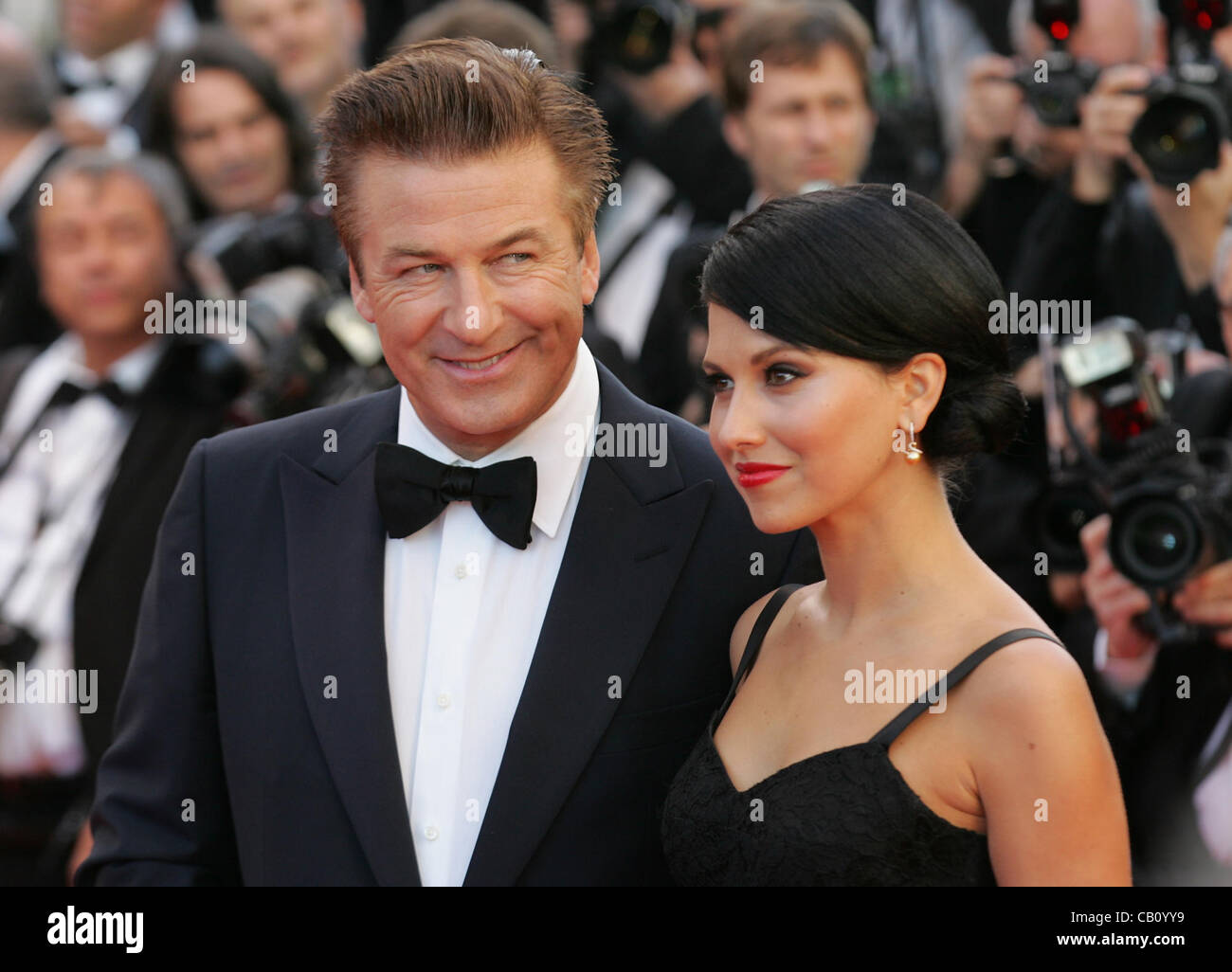 Cannes, France, 16/05/2012: Alec Baldwin arrives for the Moonrise Kingdom premiere during the 65th Annual Cannes - Stock Image