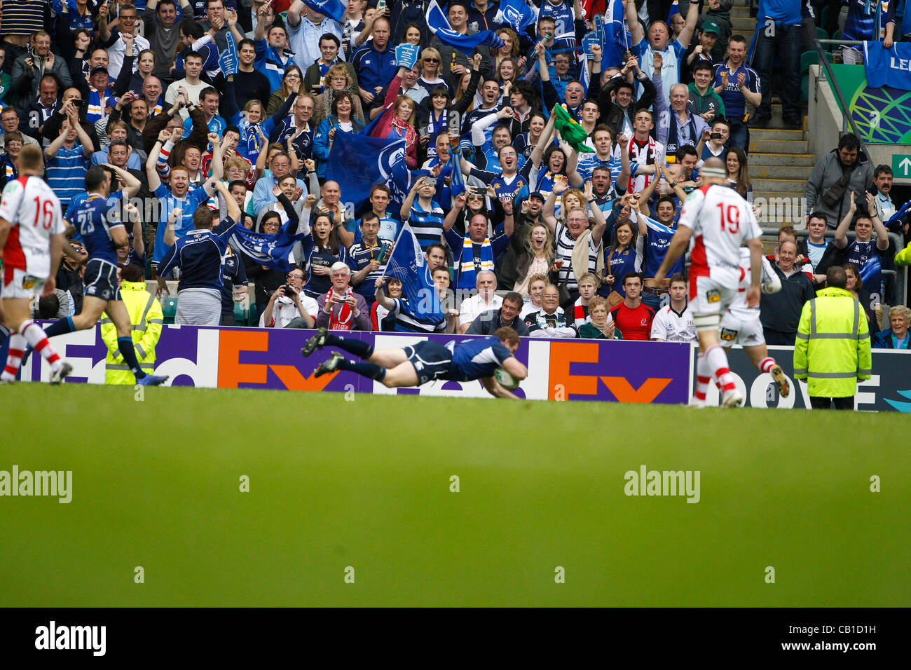 19.05.2012 Twickenham, London. Rugby Union. Leinster Rugby v Ulster Rugby. - Stock Image