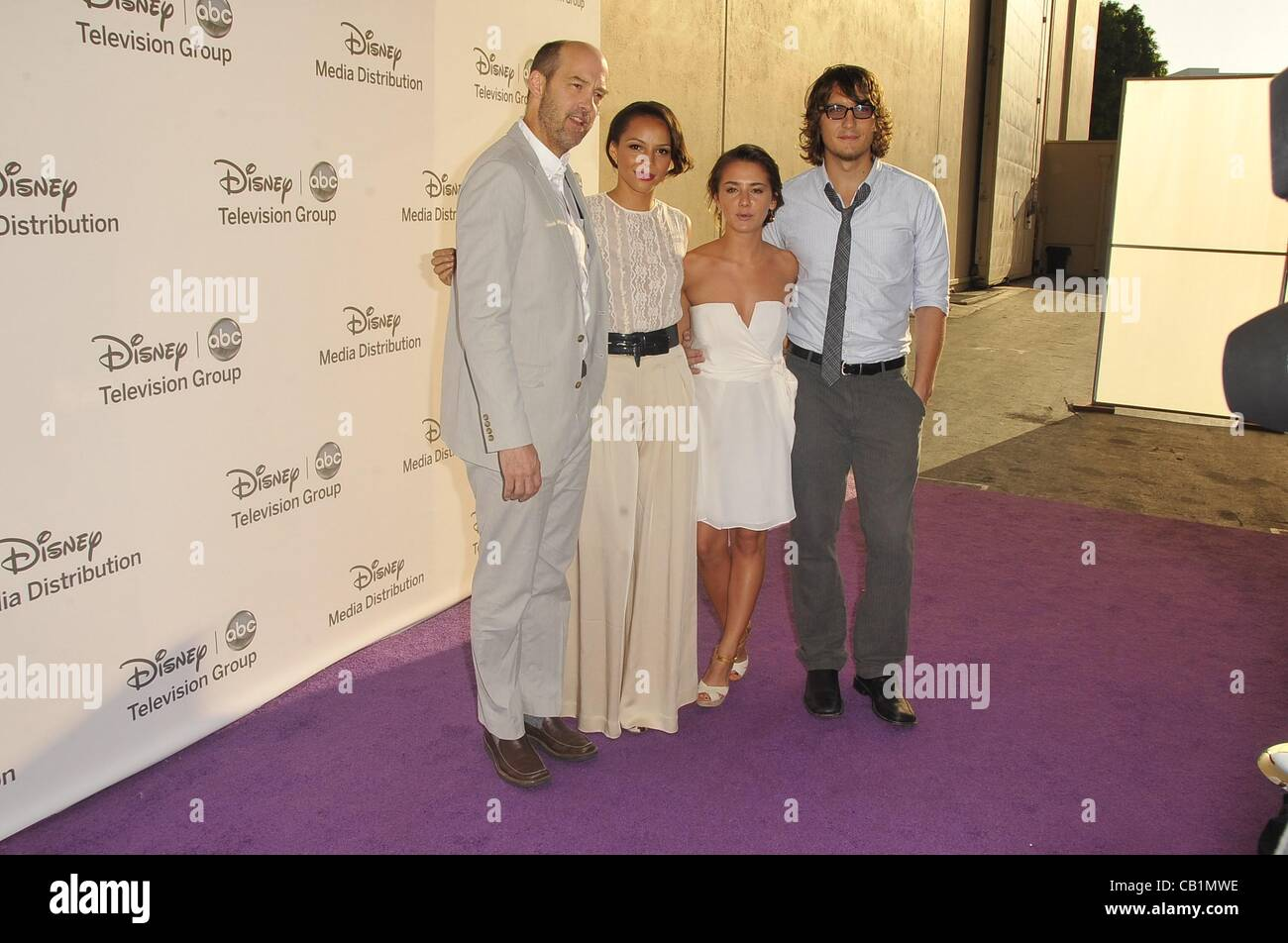 Zero Hour Cast at arrivals for Disney Media Networks International Upfronts, The Walt Disney Studios Lot, Burbank, - Stock Image
