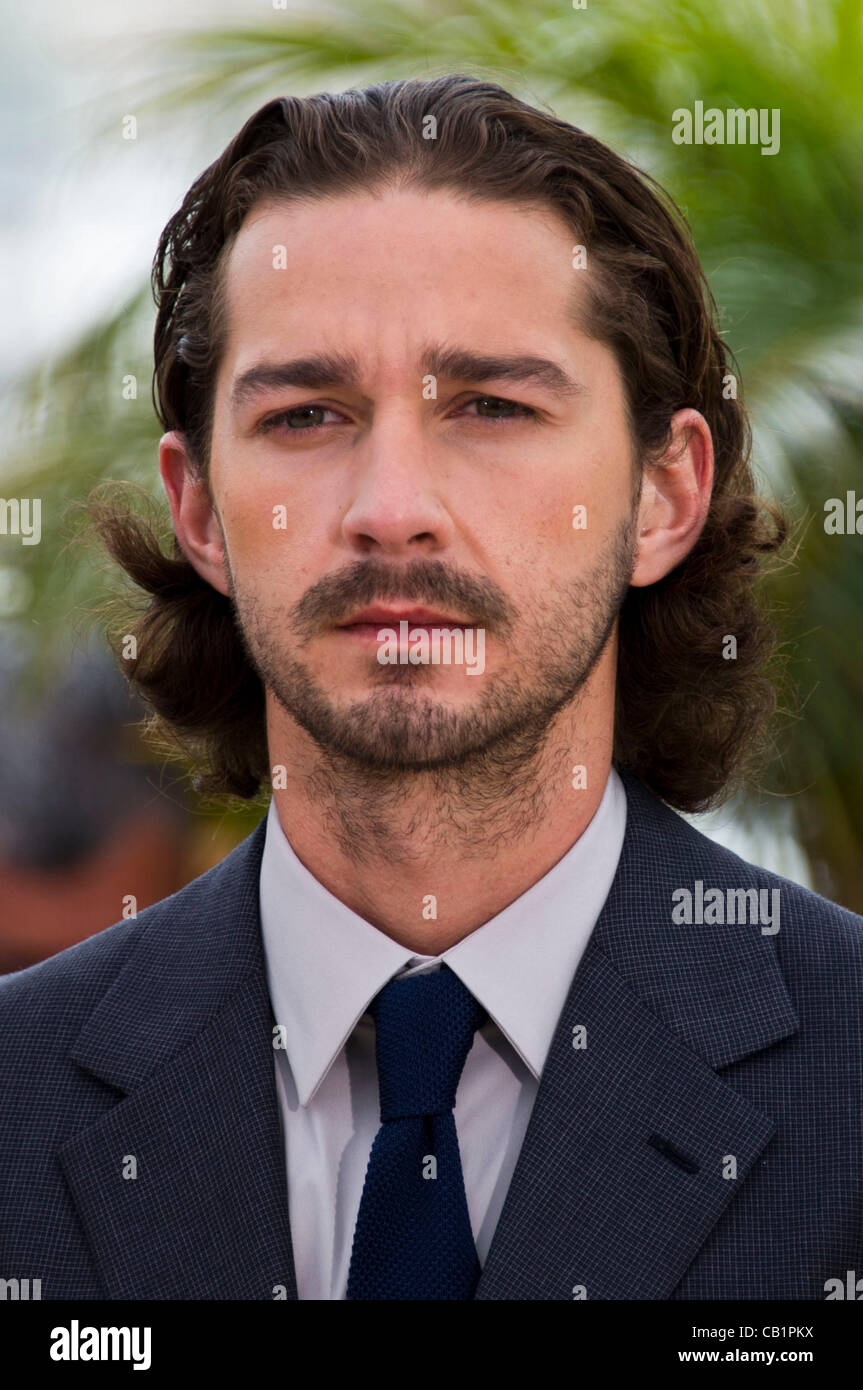 Shia Labeouf Actor At Photocall For Film Lawless 65th Cannes