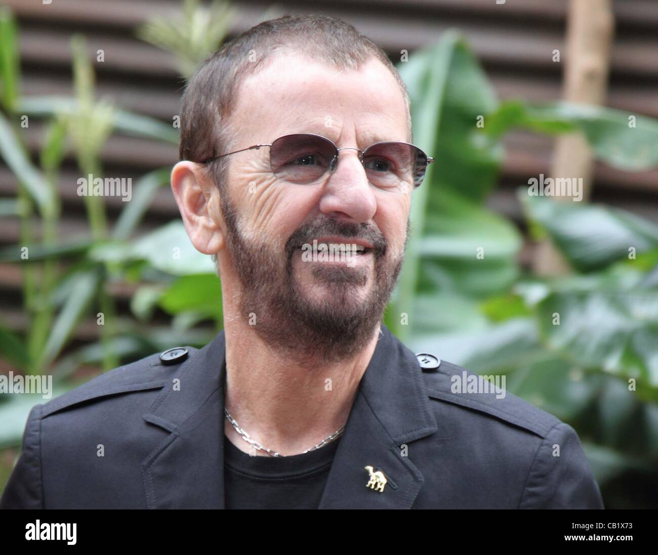 London - Ringo Starr at the RHS Chelsea Flower Show Press and VIP Day at Royal Hospital Chelsea, London - May 21st - Stock Image