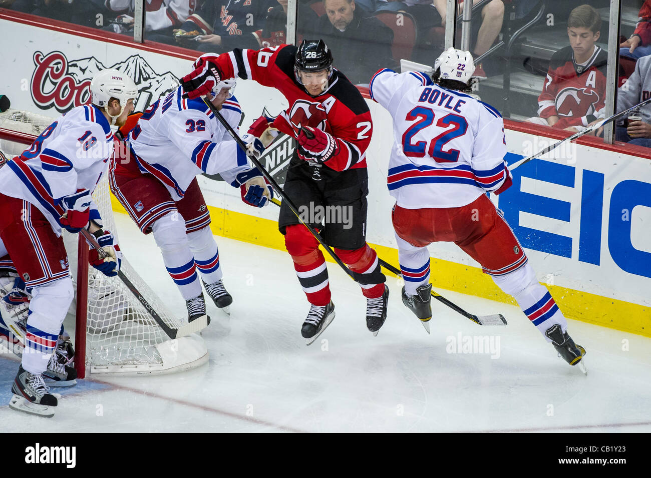 the best attitude 9db65 608a7 21.05.2012. Newark, NJ USA. New Jersey Devils center Patrik ...