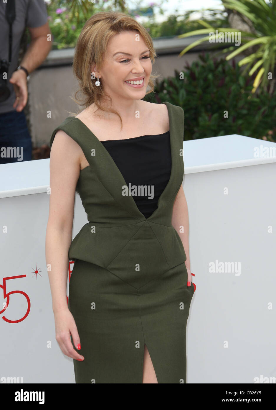 KYLIE MINOGUE HOLY MOTORS PHOTOCALL CANNES FILM FESTIVAL 2012 PALAIS DES FESTIVAL CANNES FRANCE 23 May 2012 - Stock Image