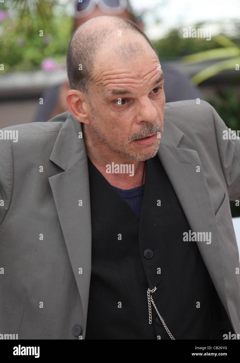 DENIS LAVANT HOLY MOTORS PHOTOCALL CANNES FILM FESTIVAL 2012 PALAIS DES FESTIVAL CANNES FRANCE 23 May 2012 - Stock Image
