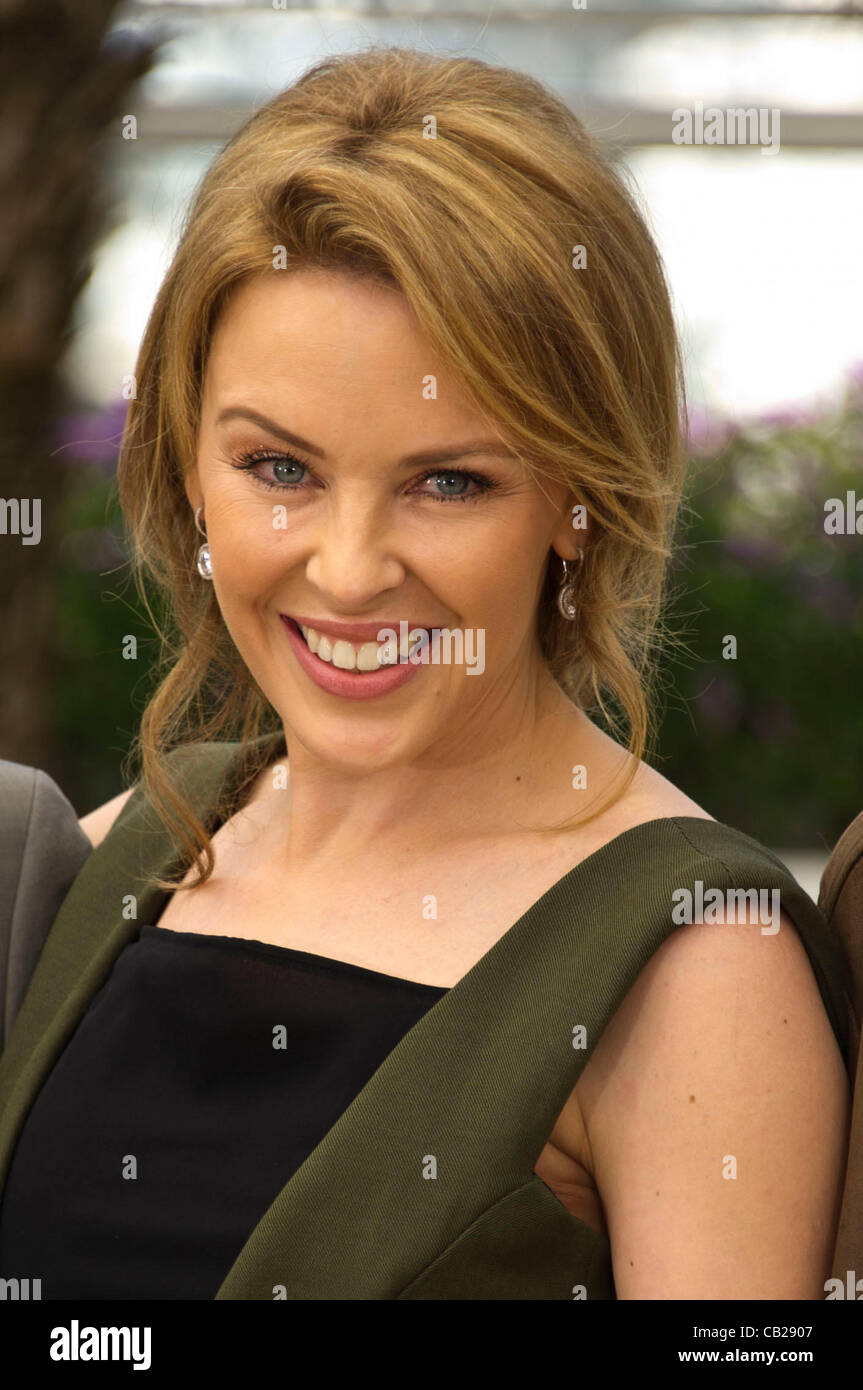kylie minogue (singer/actress) at photocall for film 'holy motors