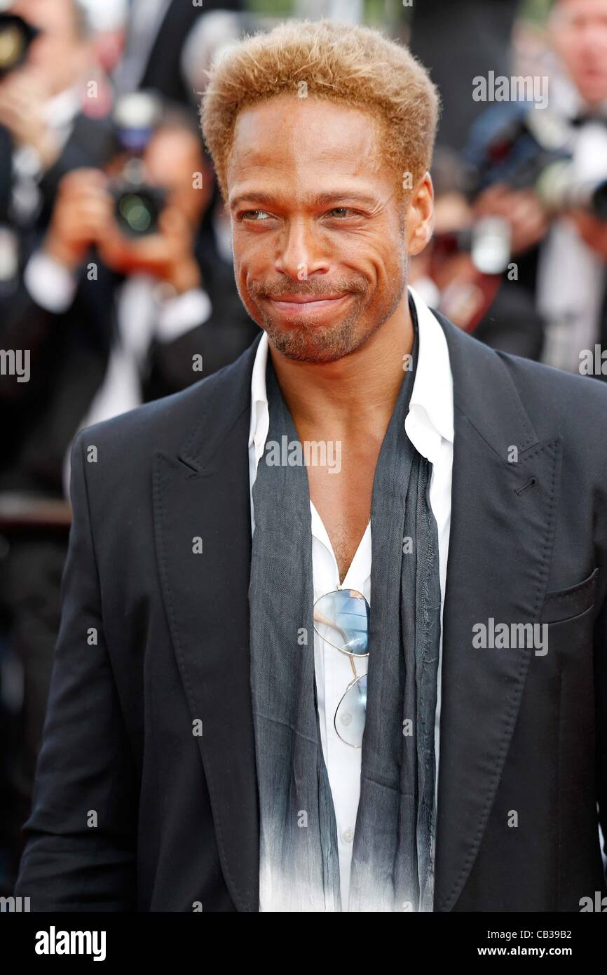 May 26, 2012 - Hollywood, California, U.S. - GARY DOURDAN.Mud premiere.65. Cannes Film Festival.Cannes, France.May Stock Photo