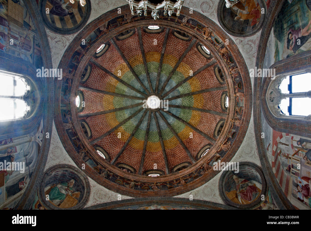 Milan - The Portinari Chapel's cupola - Stock Image