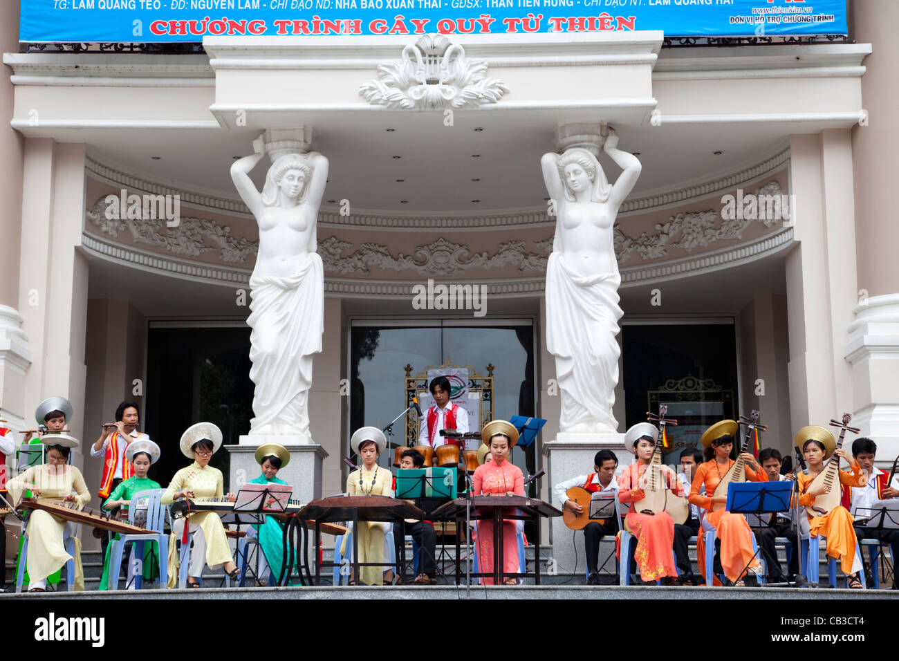 Vietnam, Ho Chi Minh City, The Opera House, Traditional Music