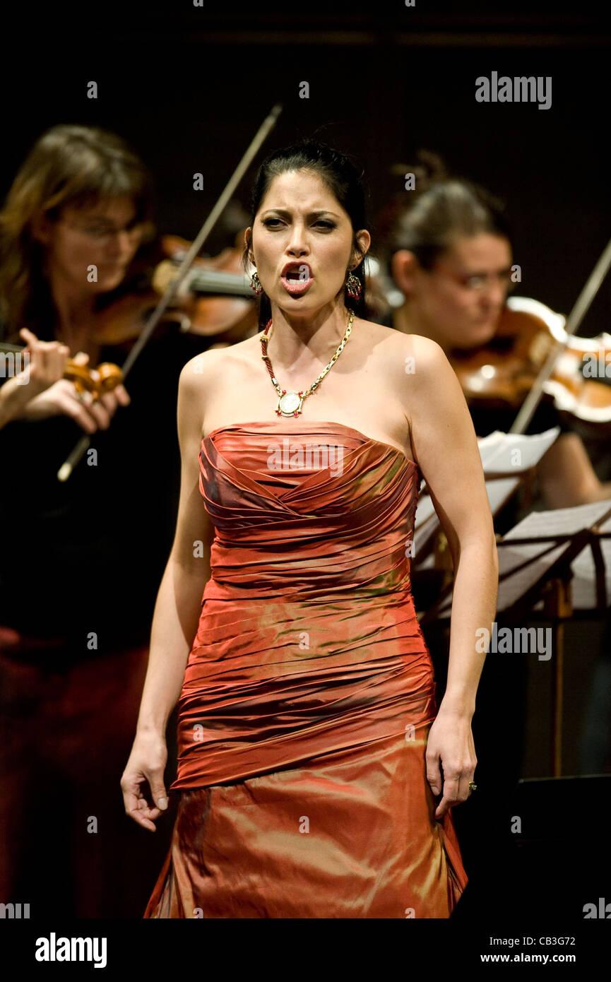 Vivica Genaux concert in Prague - Stock Image