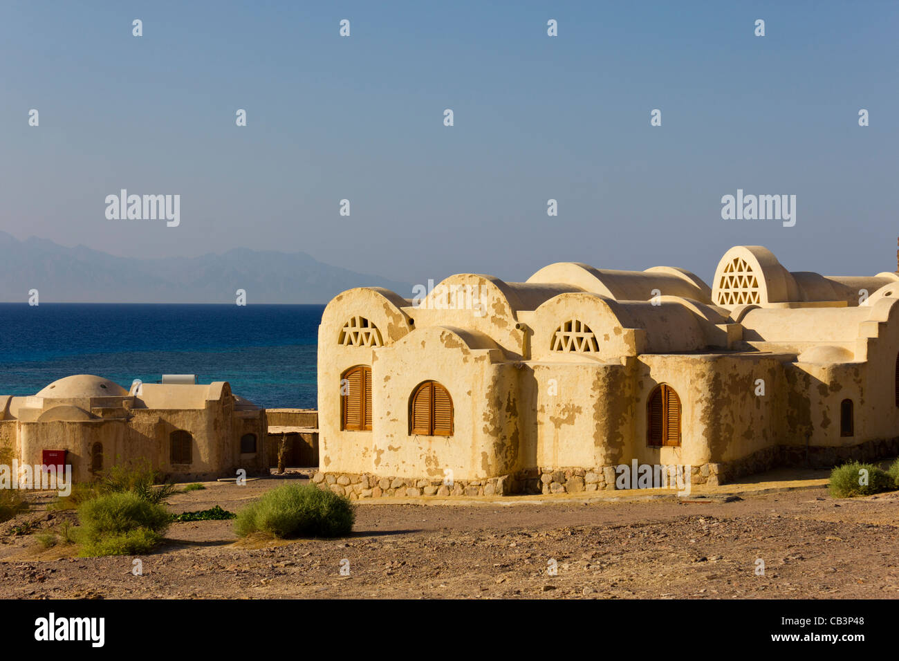 Basata eco-lodge, Gulf of Aqaba, South Sinai, Egypt - Stock Image