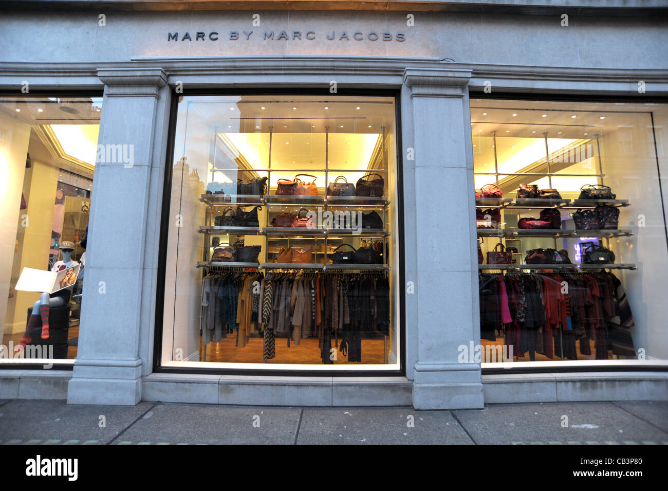 3c0bf1c52ba95 Exterior shot of the Marc By Marc Jacobs store on Mount Street London  England 2011 -