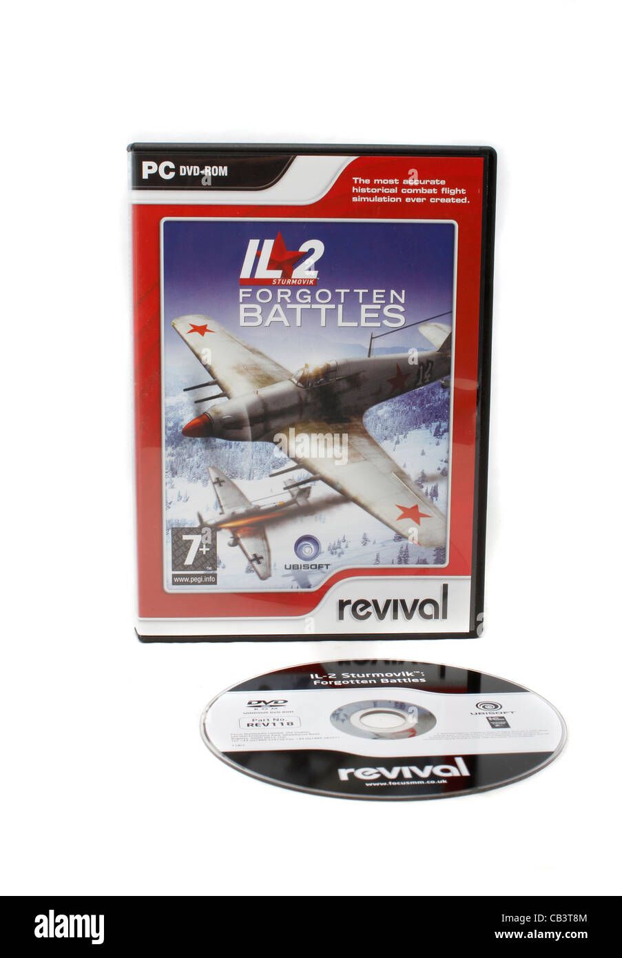 IL2 Forgotten battles computer game by Revival Stock Photo
