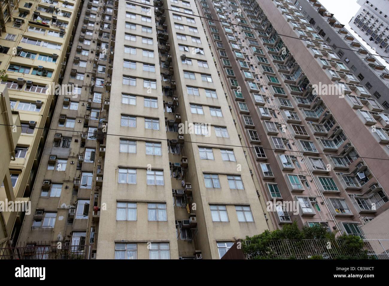 High Rise Close Proximity Housing Apartments Hong Kong Island Hksar