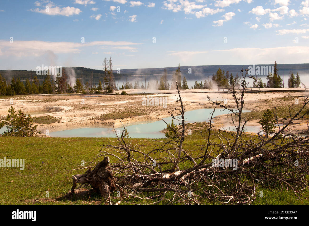 Yellowstone National Park Established By The U S Congress