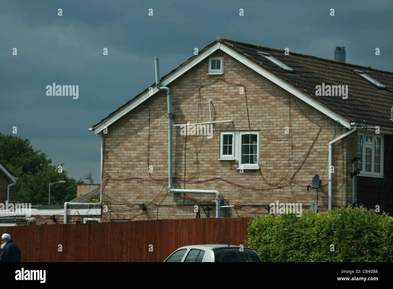 Cool Modern House With Dodgy Wiring And Plumbing Berkshire Stock Photo Wiring 101 Ferenstreekradiomeanderfmnl