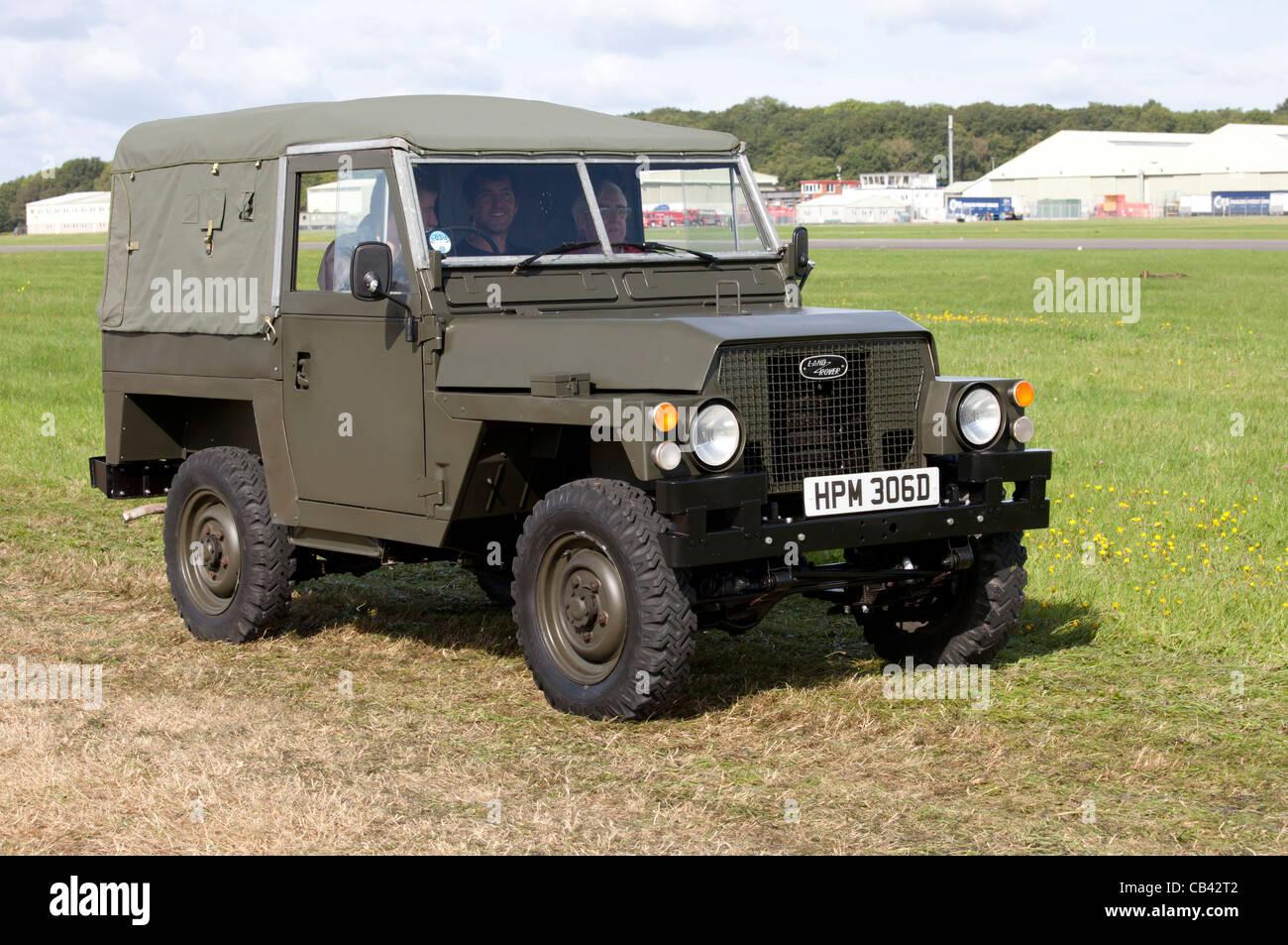 Military Land Rover Stock Photos & Military Land Rover Stock