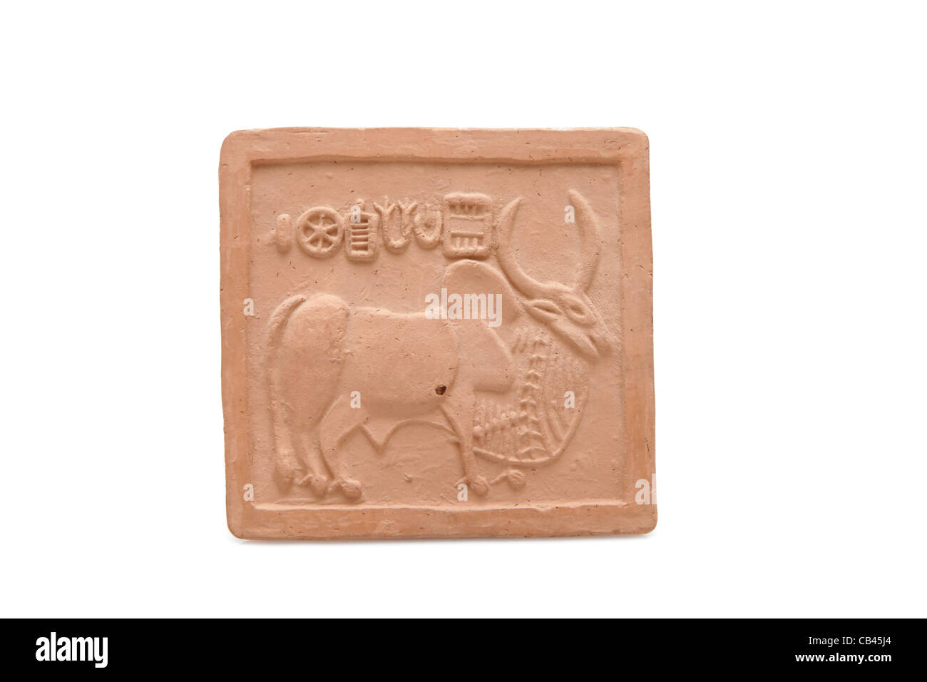Ancient Pictograph from the Indus Valley Civilization - Stock Image