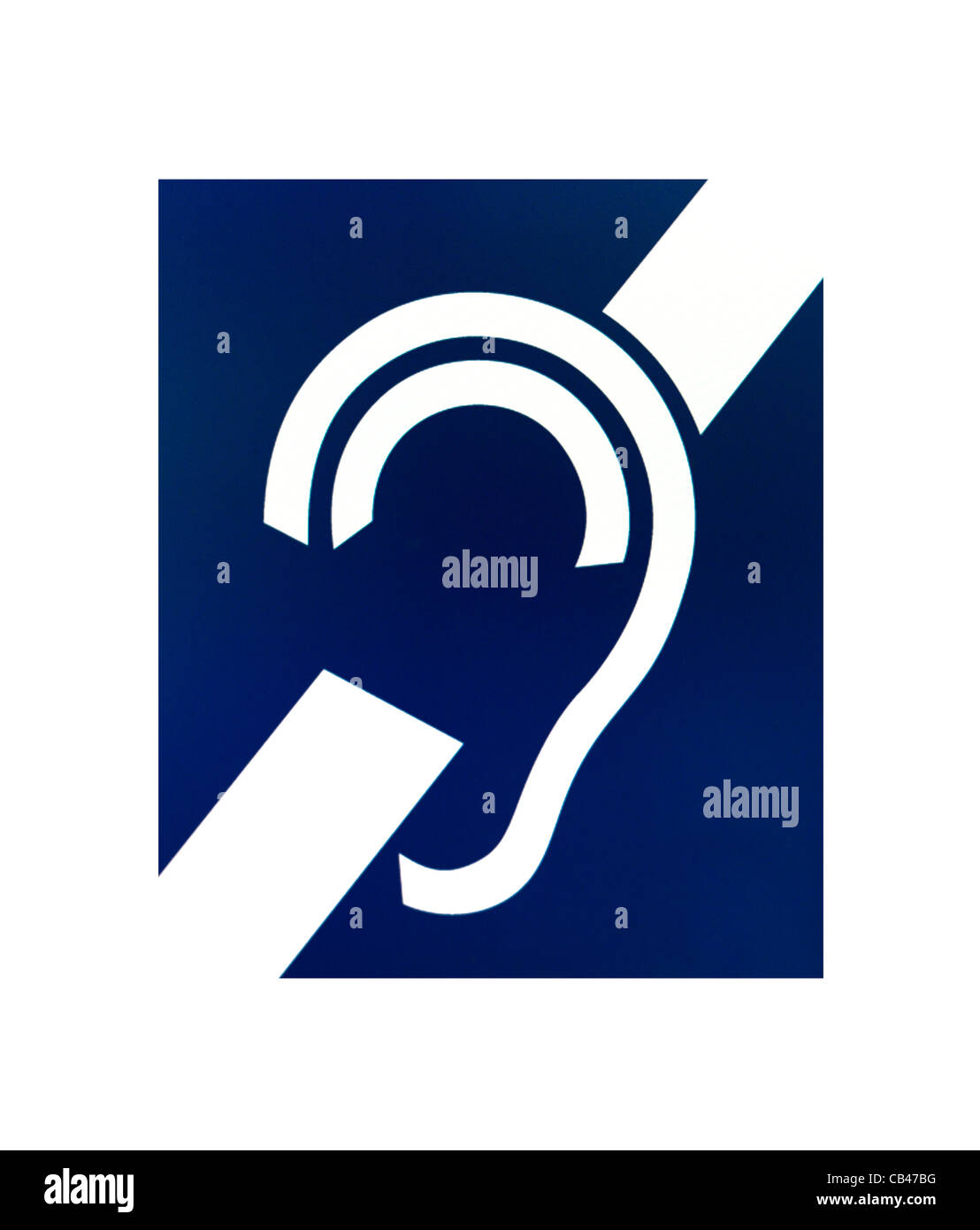 Deaf Symbol Stock Photos Deaf Symbol Stock Images Alamy