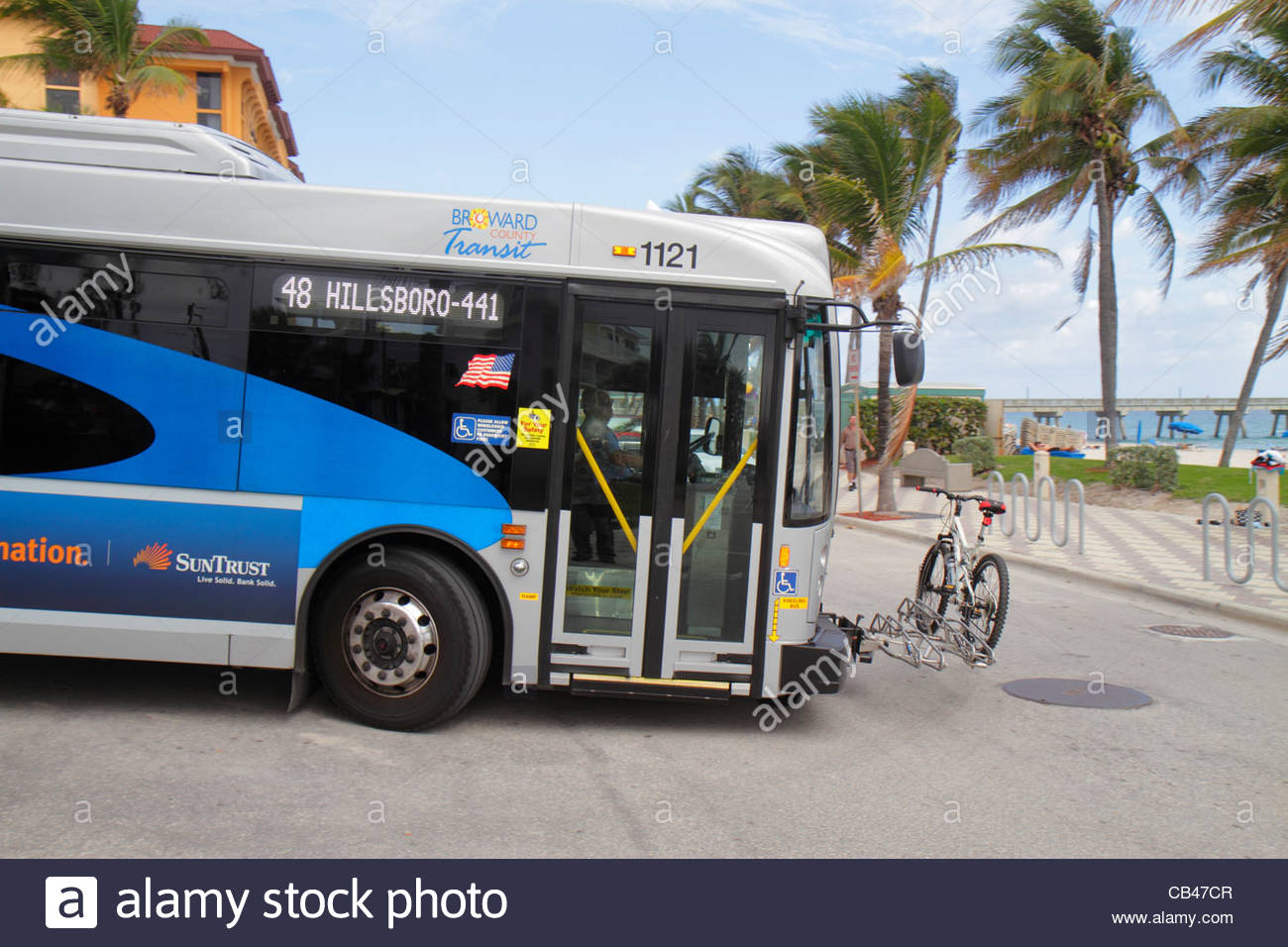 Deerfield Beach Florida Ocean Way Broward County Transit BCT