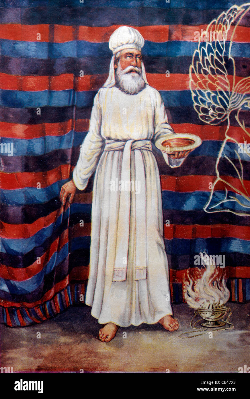 An Illustration Of The High Priest Of Israel On The Great
