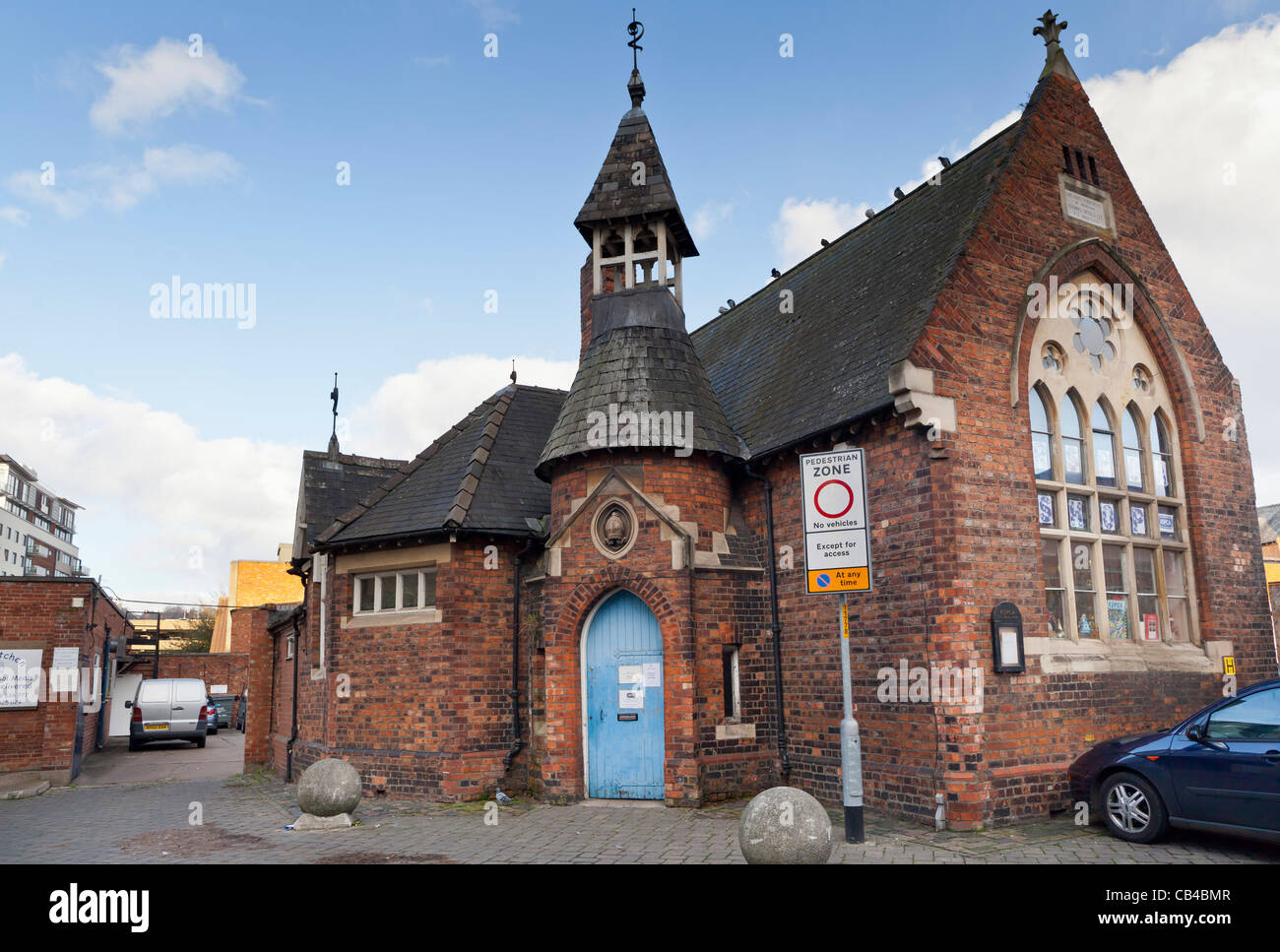 RSPCA building - Lincoln, Lincolnshire, UK, Europe - Stock Image